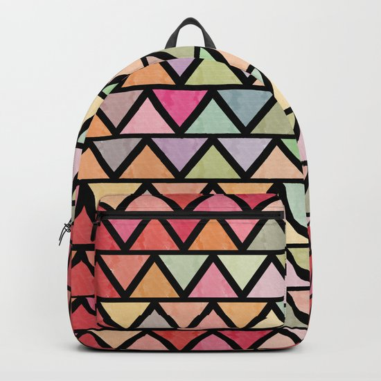 Lovely geometric Pattern V Backpack