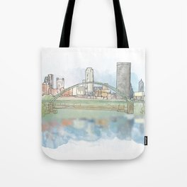 Birmingham Bridge Tote Bag