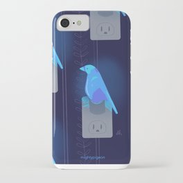 blue ca iPhone Case