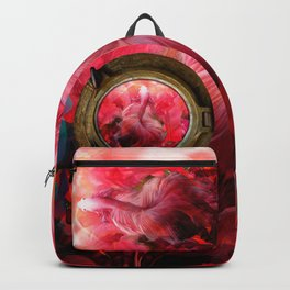 """Betta splendens Tropical Dream (Siam fighter)"" Backpack"