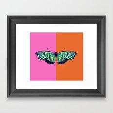 Hal Color Block Framed Art Print