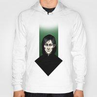 snape Hoodies featuring Severus Snape  by Fatma Sahem