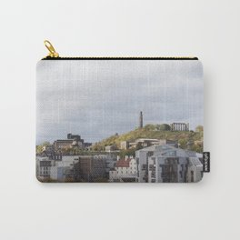 View of Holyrood and Calton Hill Edinburgh Carry-All Pouch