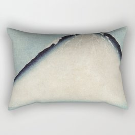 Hokusai, the blue fuji- hokusai,manga,japan,fuji, blue fuji,Shinto Rectangular Pillow