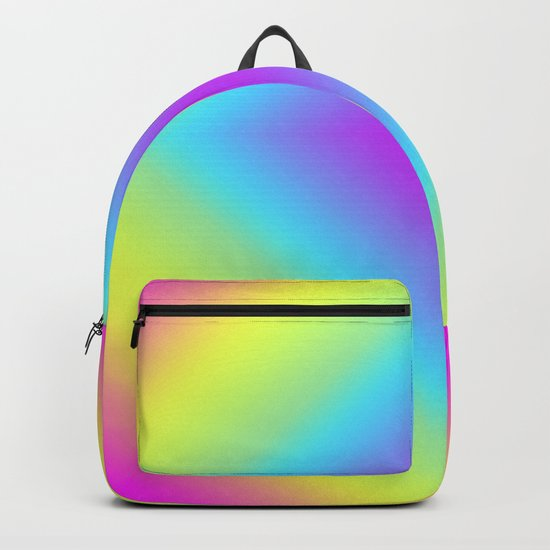 Diamond Rainbow Gradient Backpack