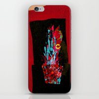 plant iPhone & iPod Skins featuring plant by frederic levy-hadida