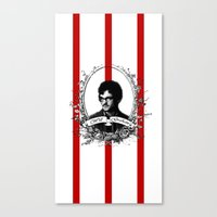 will graham Canvas Prints featuring Will Graham by JM London