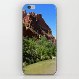Virgin River At Zion Park iPhone Skin