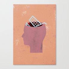 shoppinghead... Canvas Print