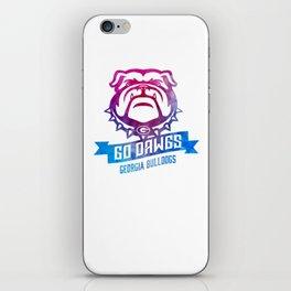 GO DAWGS iPhone Skin