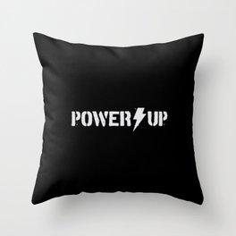 Power Up - rock gift Throw Pillow