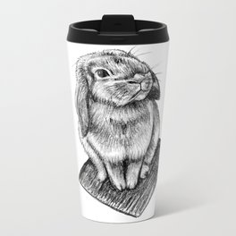 Bunny #5 Metal Travel Mug