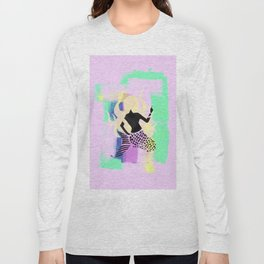 Free Mermaid Long Sleeve T-shirt
