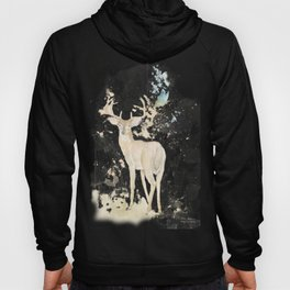 Deer and butterfly Hoody