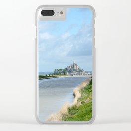 Le Mont Saint Michel 6 Clear iPhone Case