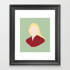 Princess Buttercup Framed Art Print