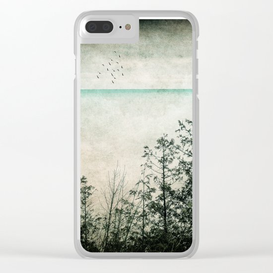 All Is Done Clear iPhone Case