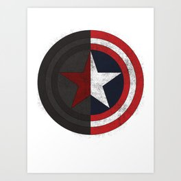 Brothers shield Art Print