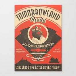 Tomorrowland Realty  Canvas Print