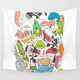 Sushi Bar: Point of Nori-turn Wall Tapestry