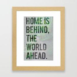 The World Ahead Framed Art Print