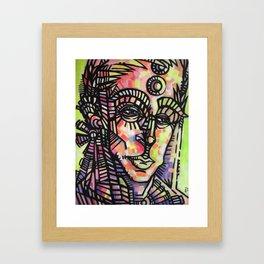 """The Sentry"" (Original) Framed Art Print"