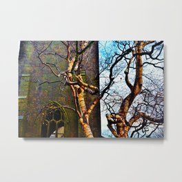 Tree Dance - Heptonstall Metal Print