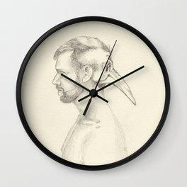 Inner Demons 1 Wall Clock