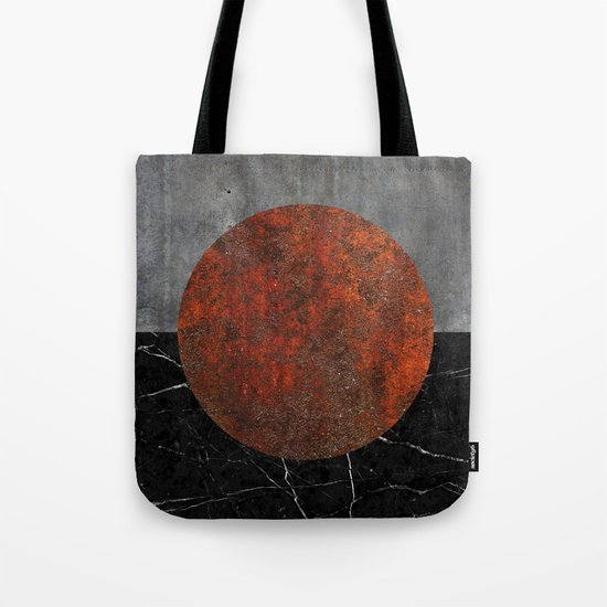 Abstract - Marble, Concrete, and Rusted Iron II Tote Bag