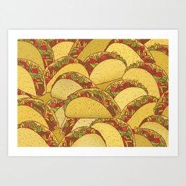 Tacos Art Print