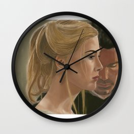 Gone girl - Rosamund Pike Wall Clock