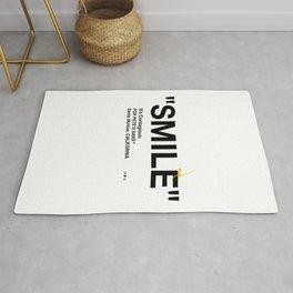 """""""SMILE"""" Rug"""