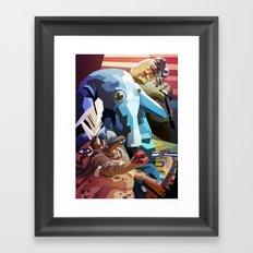 SW#21 Framed Art Print