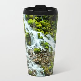 Wahkeena Creek Cascades Travel Mug