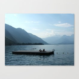 Lac D'Annecy Canvas Print