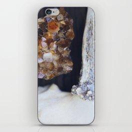 Citrine and Bone iPhone Skin