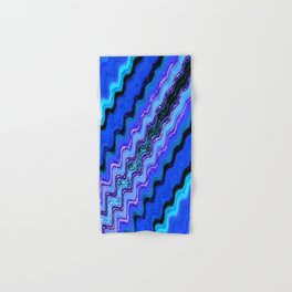 Blue Tranquil Waves Hand & Bath Towel