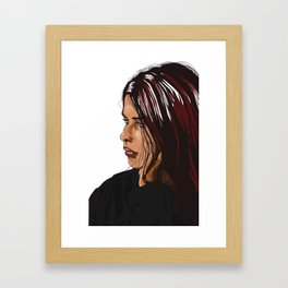 Cath Framed Art Print