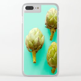 Ambrosial Artichokes Clear iPhone Case