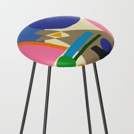 Abstract morning Counter Stool