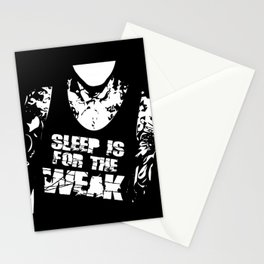 Sleep is for the Weak Stationery Cards