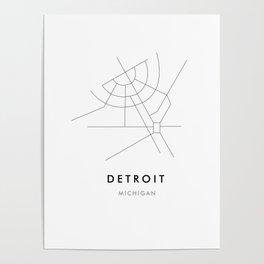 Detroit, MI Poster