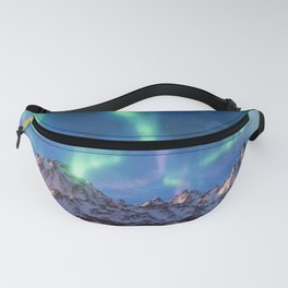 Aurora Borealis with Snow Fanny Pack