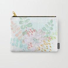 Paint splatter flower Carry-All Pouch