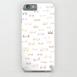 All Boobs Are Beautiful – Colour iPhone Case