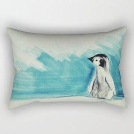 Baby Penguin Rectangular Pillow