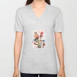 blooming fantasy Unisex V-Neck