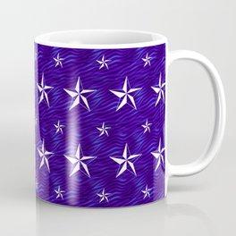 Stella Polaris Navy Blue Design Coffee Mug
