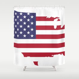 United States Shower Curtain