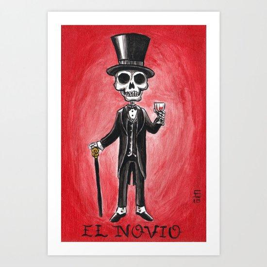 El Novio Art Print